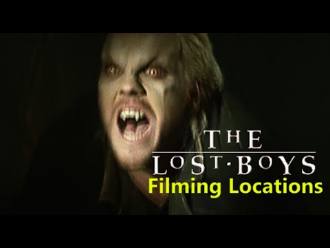 The Lost Boys 1987 ( FILMING LOCATION ) Kiefer Sutherland  Jason Patric Corey Haim
