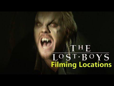 The Lost Boys 1987 ( FILMING LOCATION ) Kiefer Sutherland  Jason Patric Corey Haim