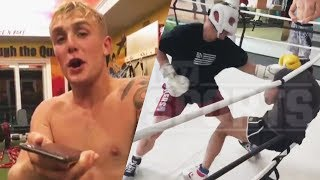 Jake Paul BOXING Footage LEAKED! Ninja Hits 10 MILLION