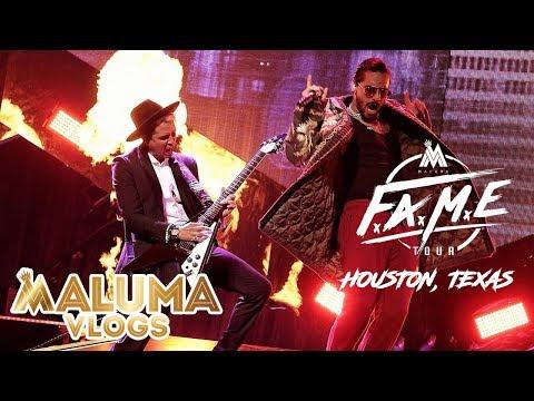 Concierto Maluma en Houston, Texas | MalumaVlogs