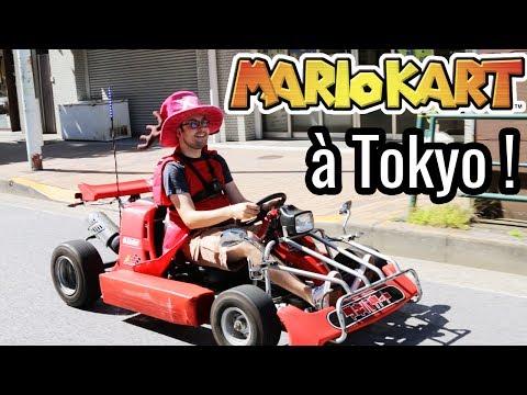 EXPÉRIENCE INSOLITE ! (Mario Kart IRL dans Tokyo)
