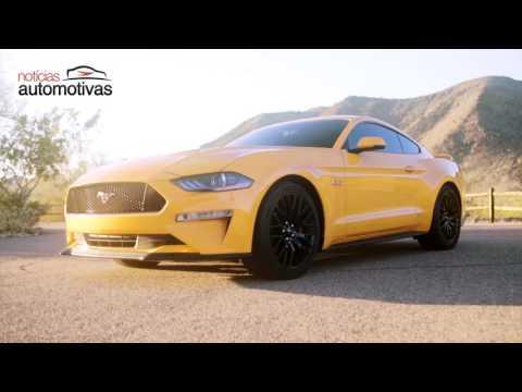 Novo Ford Mustang 2018 - NoticiasAutomotivas.com.br