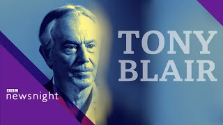 Tony Blair on how to renew social democracy - BBC Newsnight