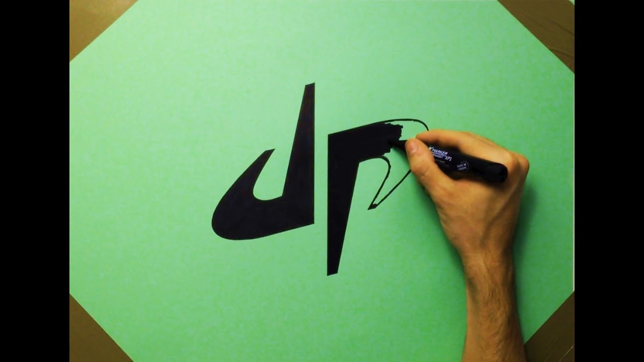 How To Draw Dp Dude Perfect Logo On Green Paper Fan Art Youtube 5 best buds just kickin' it. how to draw dp dude perfect logo on green paper fan art