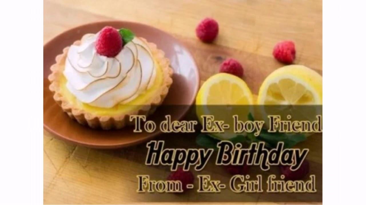 Happy wishing birthday ex Etiquette For