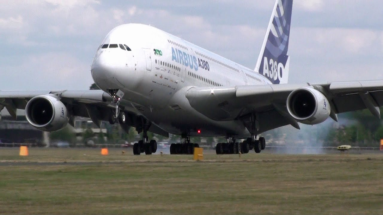 Airbus A380 Jet Engine Sound