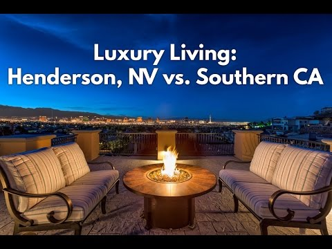 Luxury Living in Henderson, NV vs Southern California (Home Tour)