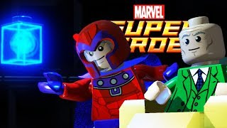 Lego Marvel Super Heroes | SAVE THE X MANSION! | Lego Marvel Super Heroes Gameplay Part 7