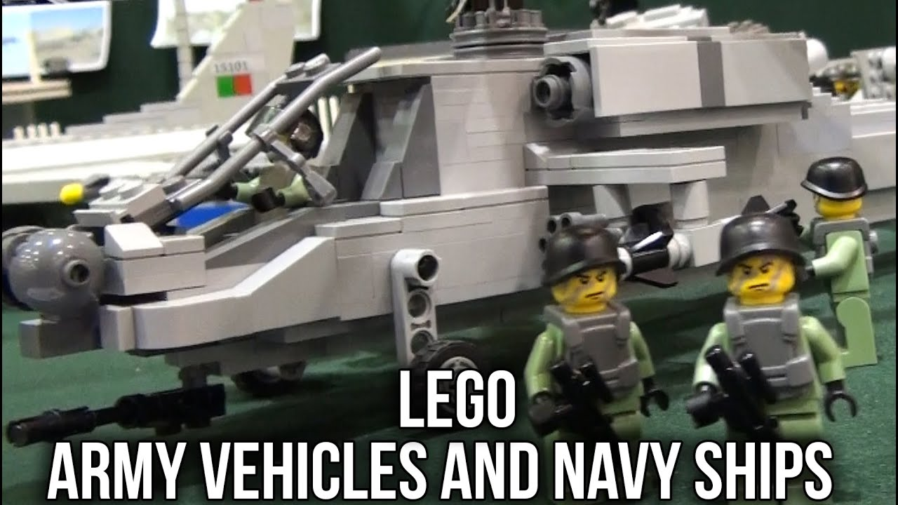 Lego Army Vehicles and Navy Ships | Oeiras Brincka - YouTube