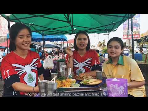 REVIEW THAI FOOD  | @PHATTHALUNG TRAIN STATION MARKET⛱