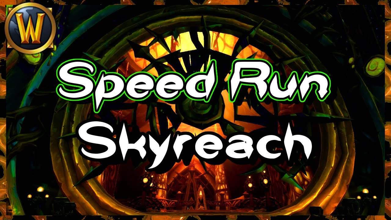 How I Speed Run Skyreach | Go Gold Mode 8.3