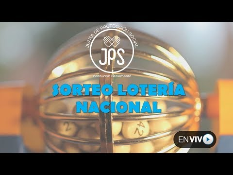 Sorteo Lotería Nacional N°4486, Domingo 08 de abril 2018. JPS