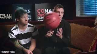 Alana Johnston interviews Twenty One Pilots for Conan Coke Zero