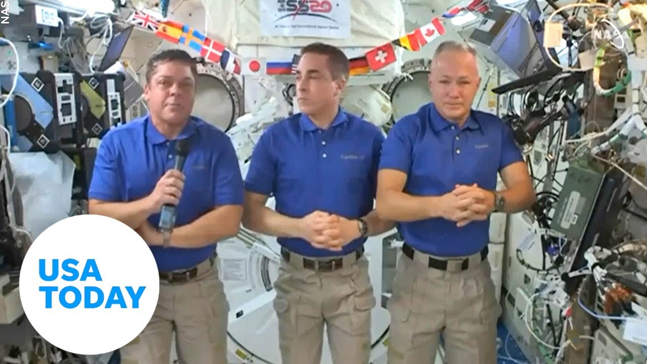 History-making astronauts aboard the International Space Station discuss return to Earth | USA TODAY - USA TODAY