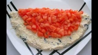 Как приготовить салат Арбузная долька