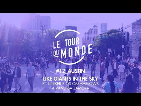 Lucas Mayer, Liniker e os Caramelows & Vanessa Zamora | Like Giants in The Sky [LYRIC]