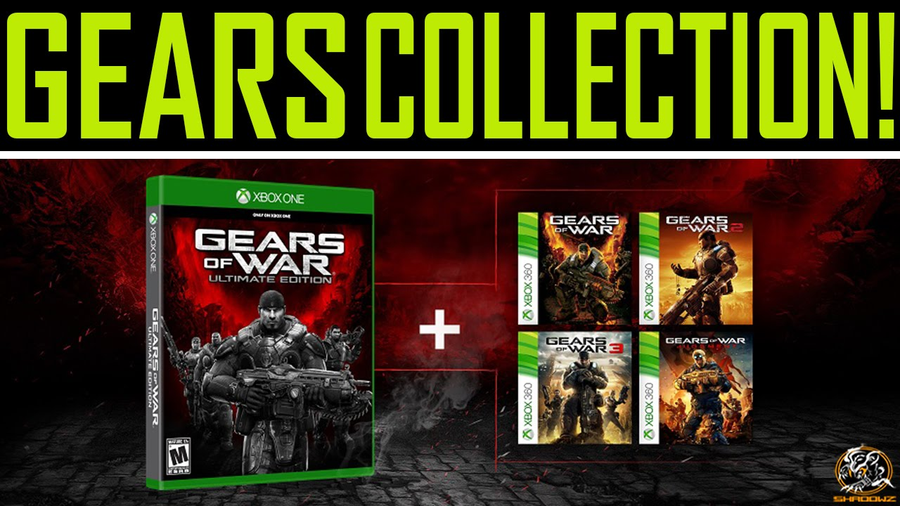 Gears of War: Ultimate Edition - Includes Entire Gears of War Collection!  (XBOX ONE)