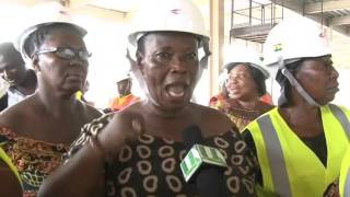 Traders Tour Ongoing Kumasi Central Market Project
