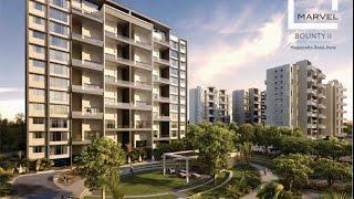 Marvel Bounty 2 -Homes in Pune at Magarpatta Road, (Walkthrough)