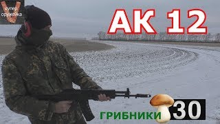 Стрельба из АК 12 СХ