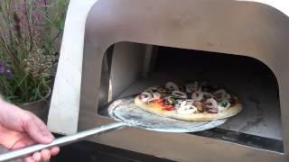 Итальянская печь для пиццы на дровах