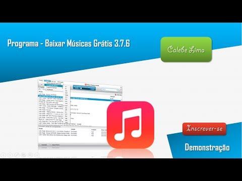 Programa - Baixar Músicas Grátis 3.7.6 - Preview
