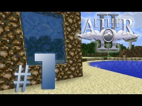 Minecraft Aether #1 - Das Portal Zum Himmel