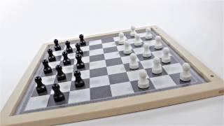 Produktvideo zu Extra großes Magnetspiel Brettspiel Dame