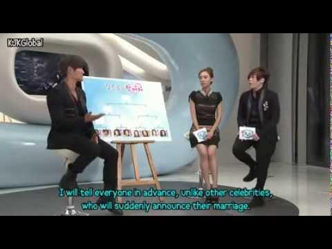 [EnG SUB]Kim Jong Kook WC ideal woman