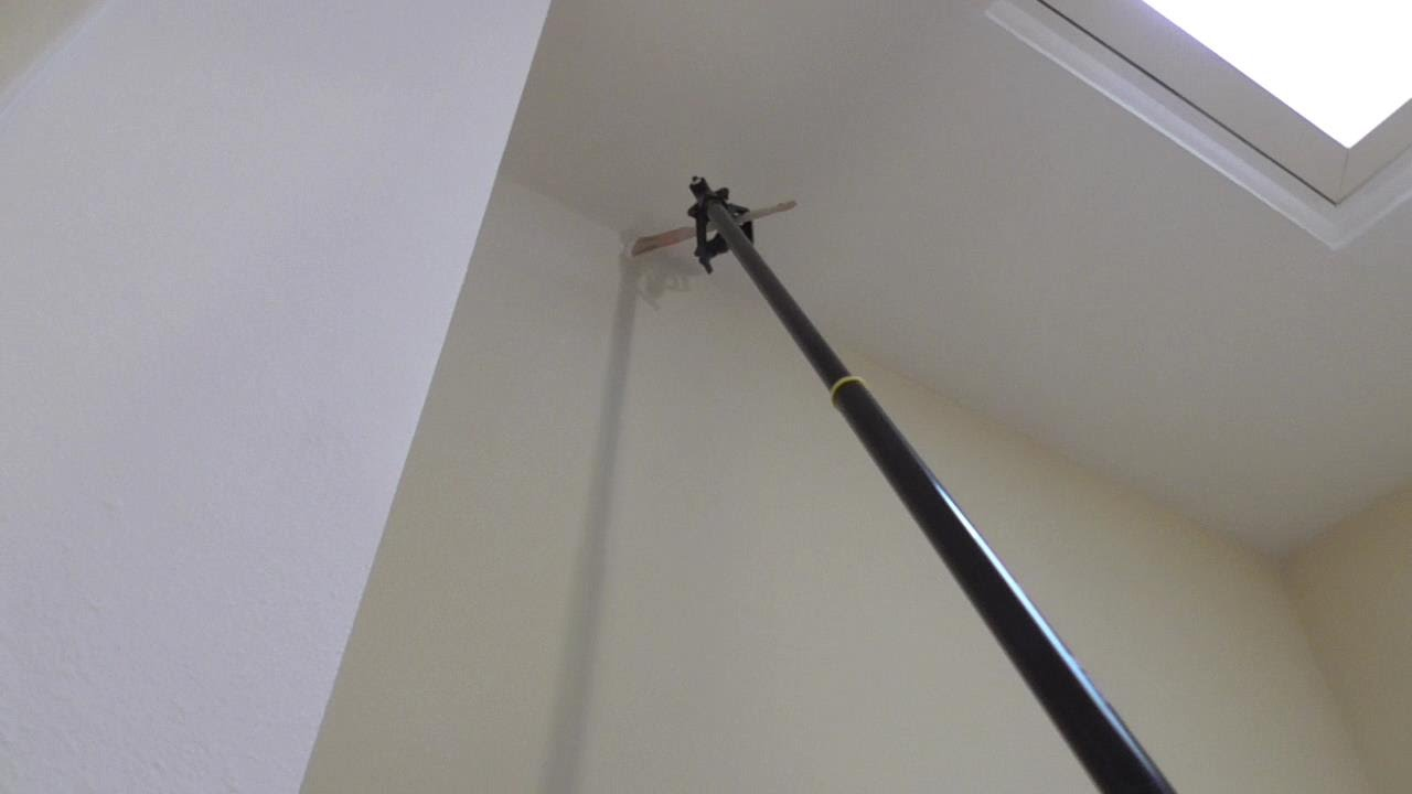 How To Paint Tall Walls Without Ladder Wooster Lock Jaw