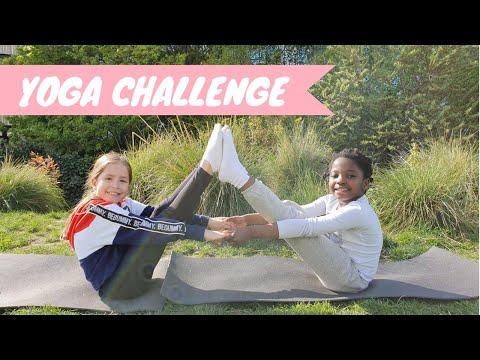 Yoga Challenge 😂😅// KIARA PARIS 🌷