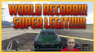GTA 5 Online - Super Legit World Record Breaking Race!