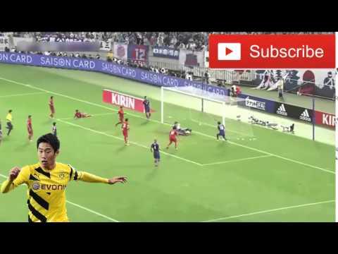 香川真司は素晴らしいゴールをミス - Japan vs Cambodia Football Videos
