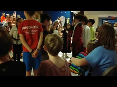 Virginia Reel #1 | Robious Elementary School | International Day
