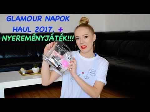 Glamour Napok Haul + NYEREMÉNYJÁTÉK 2O17. (LEJÁRT!)
