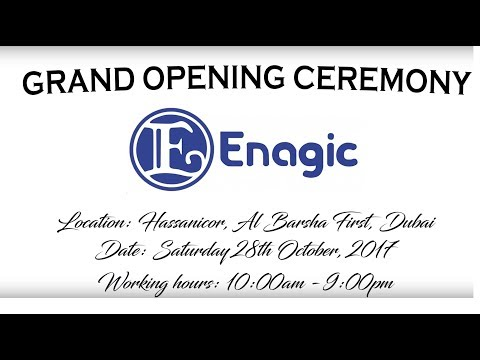 Enagic Dubai Office   Grand Opening Ceremony - 2017