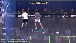 Squash : Is this Ramy\'s best single game of squash ever?