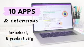 10 Apps & Extensions for School & Productivity all students need! 🖥 screenshot 5