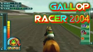 Gallop Racer 2004 Playstation 2 Gameplay Walkthrough Horse Racing Games For PS2 Commentary Day 51