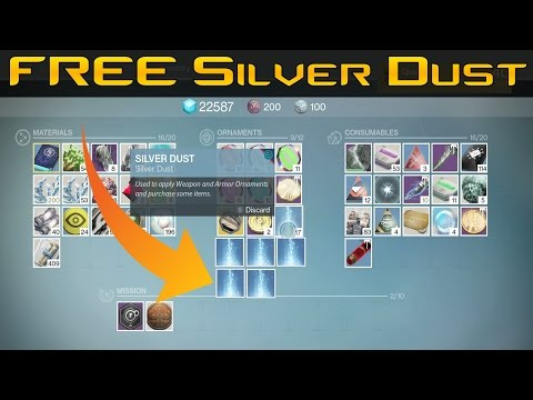 Destiny - How To Get FREE 15 Silver Dust Get It NOW!