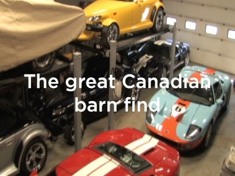 Forty Cars Discovered In Ultimate Canadian Barn Find