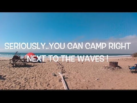 Beach Camping / Dual Sport Ride in Point Mugu - Thornehill Broome Campground