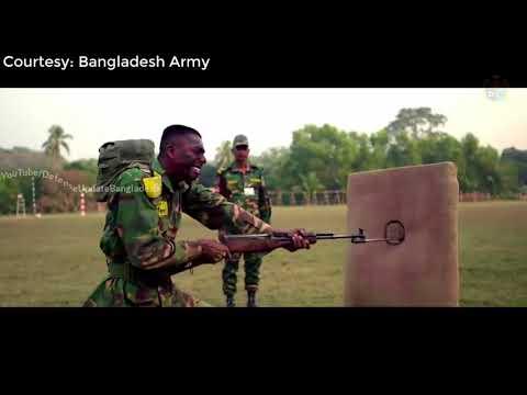 যেভাবে একজন দক্ষ সৈনিক গড়ে তোলা হয়,  বাংলাদেশ সেনাবাহিনী (Bangladesh Army Training )
