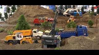 RC Loaders and Trucks: HRCT RC Truck meet and show in Budakalász