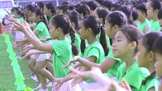 Kỷ lục: 6.000 học sinh đồng diễn thể dục