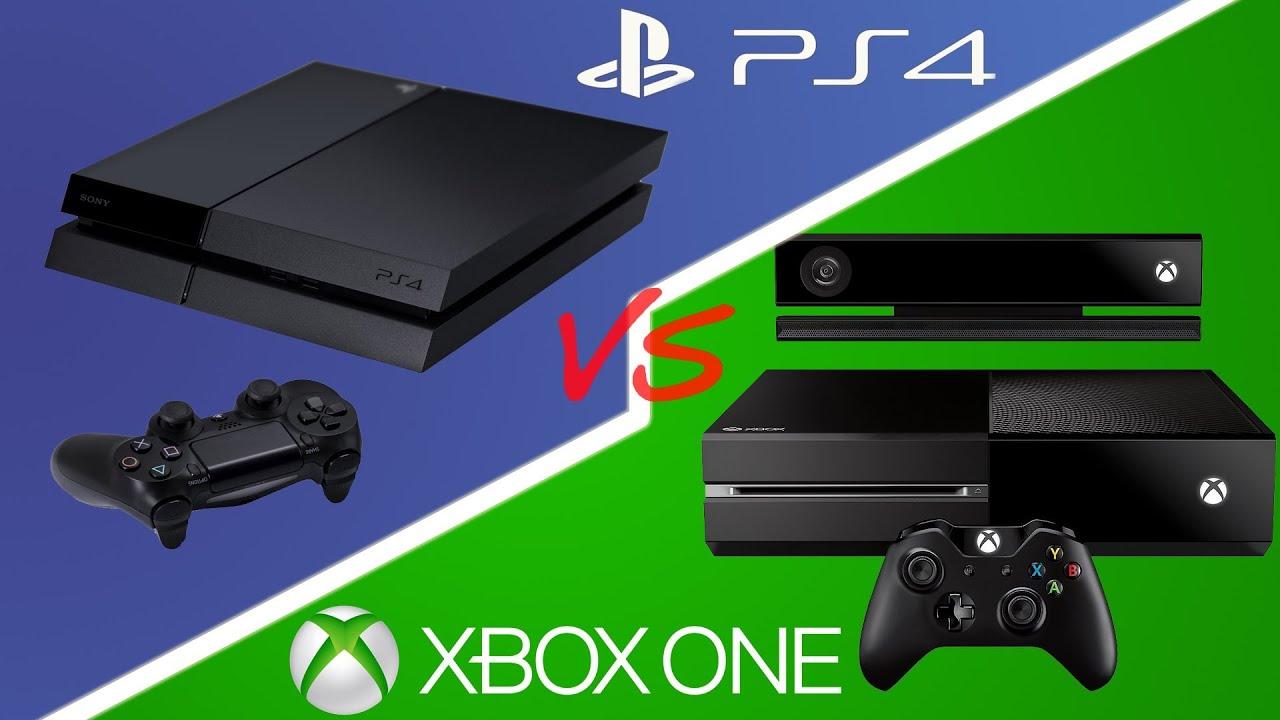 Xbox One Vs Ps4 : Ps vs xbox one cuál elegir en español youtube