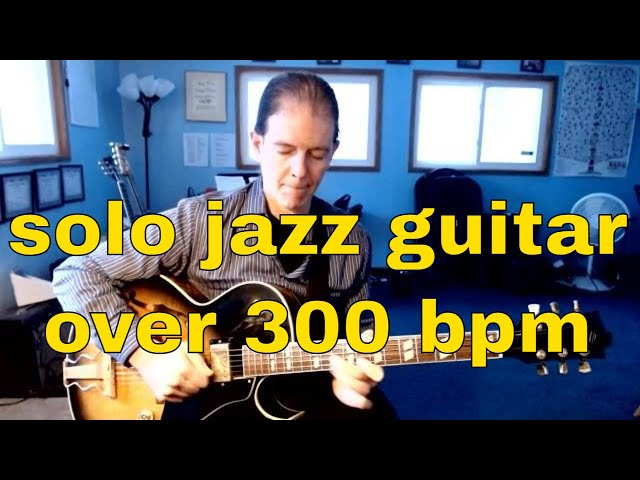 fast jazz standards | solo guitar
