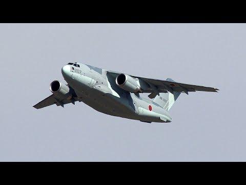 Kawasaki C-2 Transport Aircraft (88-1207) - Gifu Airbase Feb. 9th, 2018