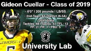 Gideon Cuellar State Championship Highlights - University Lab 2019 SS/LB