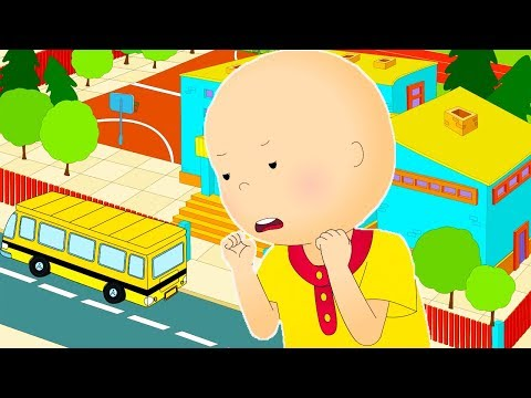 Funny Animated cartoons Kids 🎒Caillou is Late For School 🚌 WATCH ONLINE   Cartoons for Children letöltés